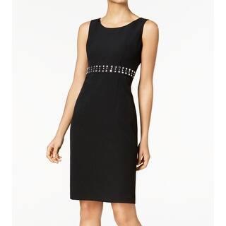 386deb3c3f5 Kasper Women s Printed Sheath Dress - Black Multi. SALE. Quick View