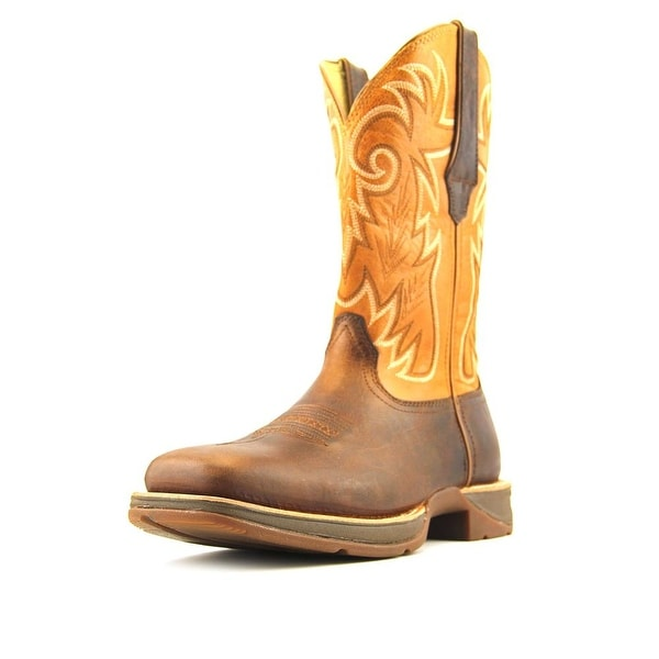 """Durango 12"""" Ramped Up Rebel W Square Toe Leather Western Boot"""