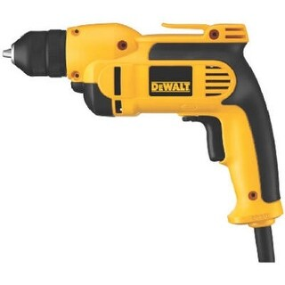 Dewalt 0972042 0.37 in. 8 amp Pistol Grip Drill with Keyless All Metal Chuck