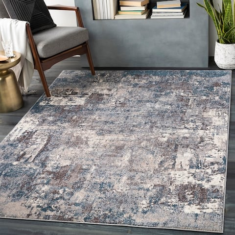 Asuman Modern Abstract Area Rug