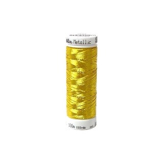 297 7633 490 Mettler Polysheen Embr Thread 40 200m Met Brass