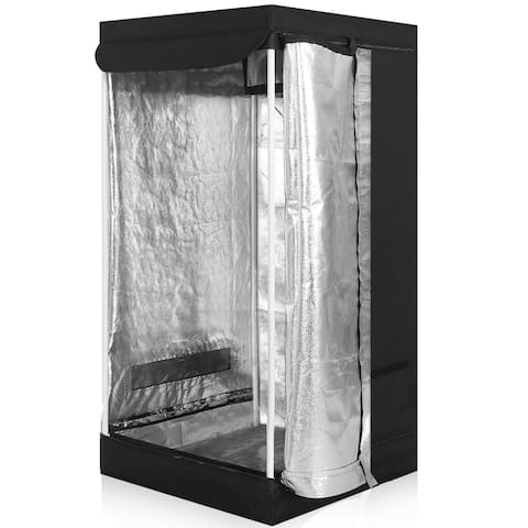 Costway Indoor Grow Tent Room Reflective Hydroponic Non Toxic Clone