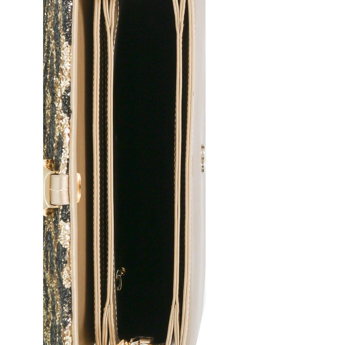 Roberto Cavalli GQLPAO H00 Light Gold//Noir Milano RMX 003 Sac à dos