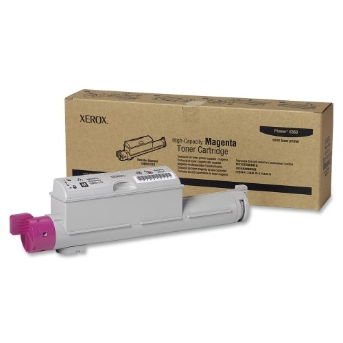Xerox 106R01219 Xerox High Capacity Magenta Toner Cartridge - Magenta - Laser - 1 Each