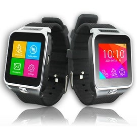 Indigi® SWAP2 (SmartWatch and Phone) Bluetooth Sync + Built-In Camera + MP3 - GSM Unlocked for AT&T / T-Mobile