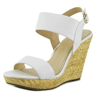 Jessica Simpson Jeisha Women  Open Toe Leather  Wedge Sandal