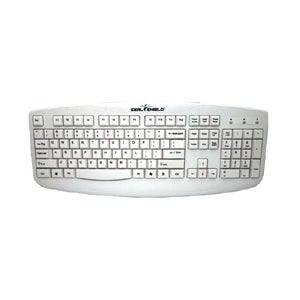 Seal Shield STWK503P Seal Shield Silver Storm STWK503P Keyboard - Cable Connectivity - PS/2 Interface - Membrane - White