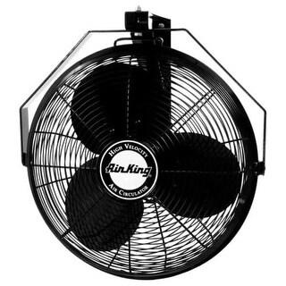 """Air King 9518 18"""" 3190 CFM 3-Speed Industrial Grade Wall Mount Fan"""