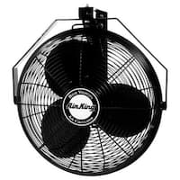 "Air King 9518 18"" 3190 CFM 3-Speed Industrial Grade Wall Mount Fan"