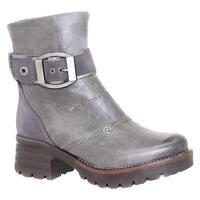 Dromedaris Women's Kendy Ankle Boot Slate Leather