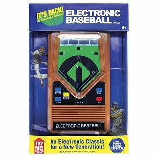 Electronic Hand-Held Baseball Game - Orange