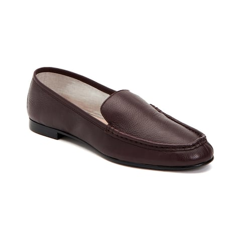 Taryn Rose Collection Diana Tumbled Leather Weatherproof Loafer