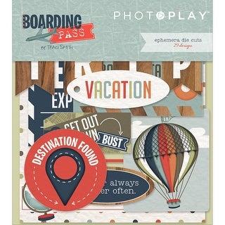 Boarding Pass Ephemera Cardstock Die-Cuts-