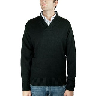 Men's Shawl-Collar Sweater (SW-689)