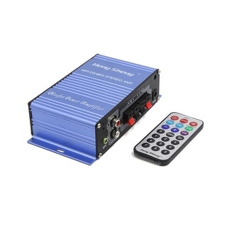 2 Channel Hi-Fi FM Radio Audio Stereo Power Amplifier for Car Motorcycle Boat