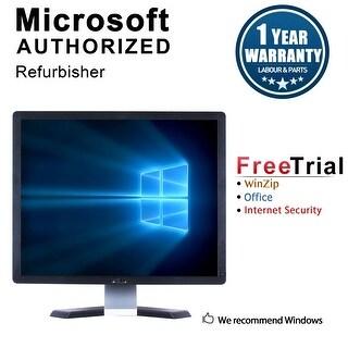 """Refurbished Dell P1913B 19"""" LCD 1440 X 900 - Black"""