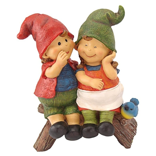 Gnome In Garden: Shop Design Toscano Telling Secrets Gnome Statue