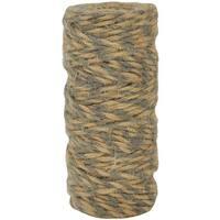 Gray Lucky Dip Jute Cord-Double-Colour - 2.5mm x 18m