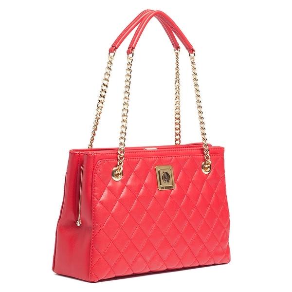Moschino JC4114 0505 Red Satchel/Shoulder Bag