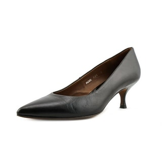 Donald J Pliner Rome Women Pointed Toe Leather Black Heels