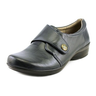 Naturalizer Calinda Women N/S Round Toe Leather Blue Loafer