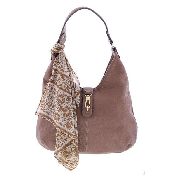 fb022cd9a1 Shop Tignanello Womens Hobo Handbag Leather Pebbled - LARGE - Free ...