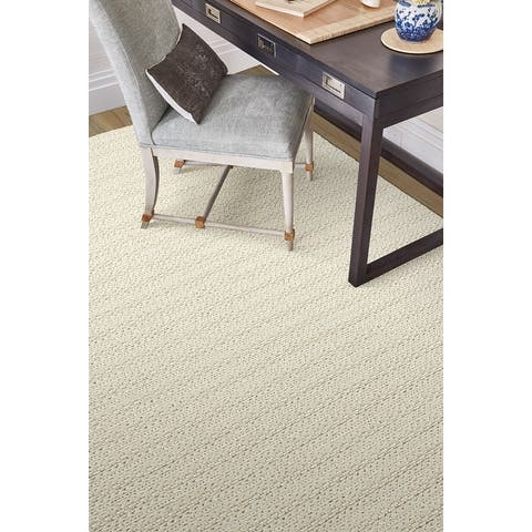 Mateo Wool and Viscose Hand-loomed Chunky Braided Area Rug