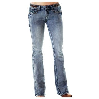 Cowgirl Tuff Western Denim Jeans Womens Vintage Studs Med