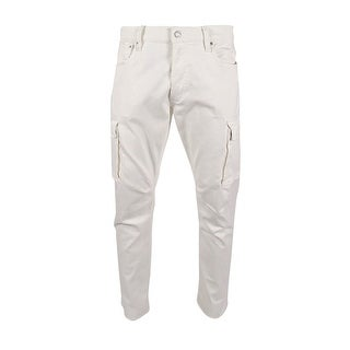 Polo Ralph Lauren Men's Stretch Cargo Jeans (36x30, Off White) - Off White - 36X30