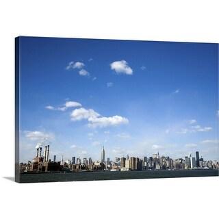"""New York City, USA"" Canvas Wall Art"