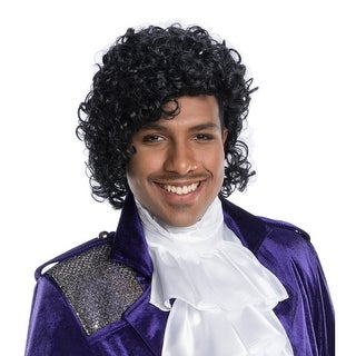 Mens Prince Costume Celebrity Wig - standard - one size
