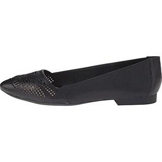 Bella Vita Womens Owen Faux Leather Almond Toe Ballet Flats - 8 medium (b,m)