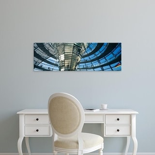 Easy Art Prints Panoramic Images's 'Glass Dome Reichstag Berlin Germany' Premium Canvas Art