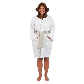 Star Wars Princess Leia Hooded Fleece Robe