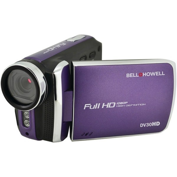 Bell+Howell Dv30Hd-P 20.0-Megapixel 1080P Dv30Hd Fun-Flix Slim Camcorder (Purple)