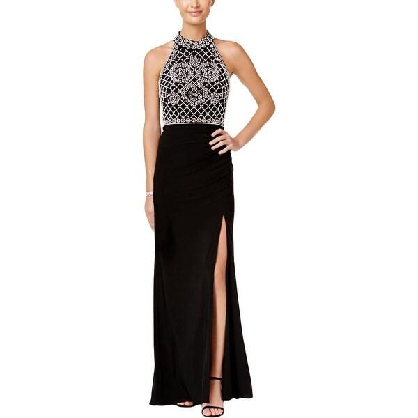 Xscape Womens Evening Dress Embellished Sleeveless - Free Shipping ...