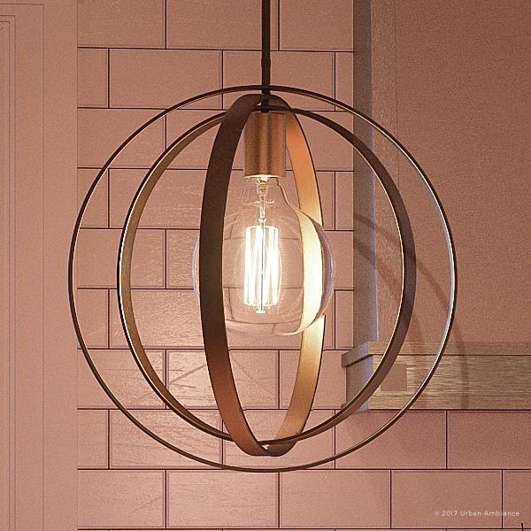Luxury Art Deco Hanging Pendant Light 15 H X 14 W With