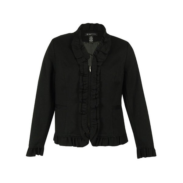 INC International Concepts Women's Ruffled Blazer
