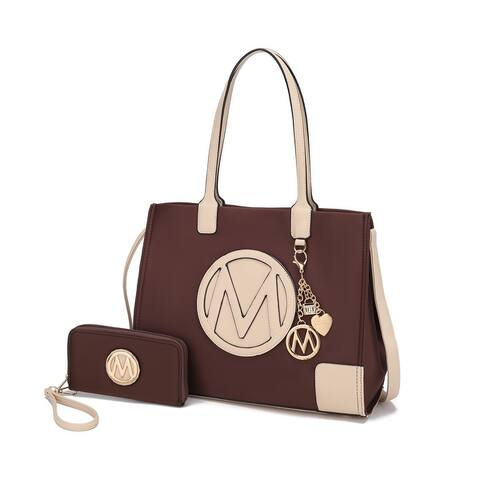 MKF Collection Louise Tote and Wallet Set by Mia k.