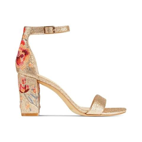 INC International Concepts Womens Kivah Open Toe Ankle Strap Classic Pumps