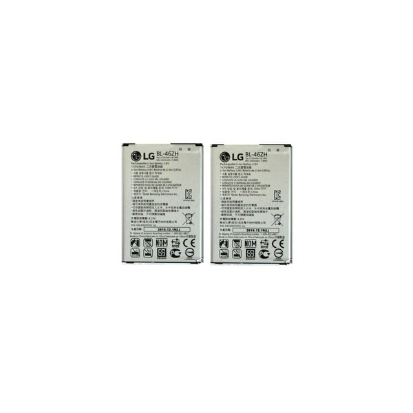 Replacement For LG BL-46ZH Mobile Phone Battery (2125mAh, 3.8V, Li-Ion) - 2 Pack