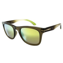New Green Shades Brown Frame Sunglasses On Sale
