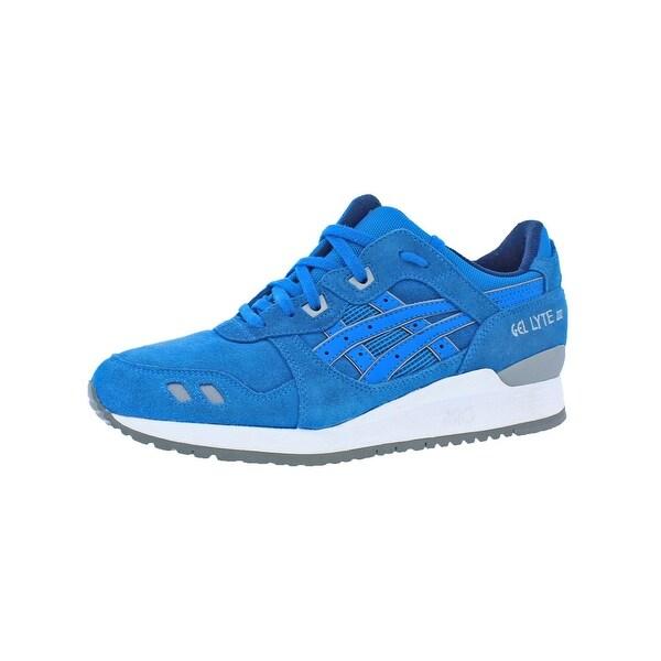 0108f046ca02 Shop Asics Mens GEL Lyte III Running Shoes Suede Retro - 8.5 medium ...