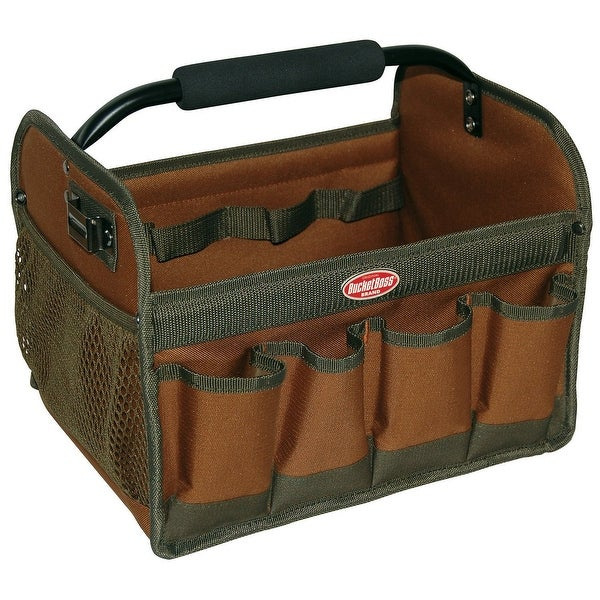 Bucket Boss 70012 Gatemouth Hard Tool Tote
