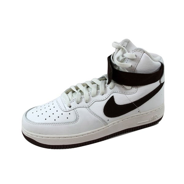 0ab6e110f3dd Shop Nike Men s Air Force 1 Hi Retro QS Summit White Chocolate ...