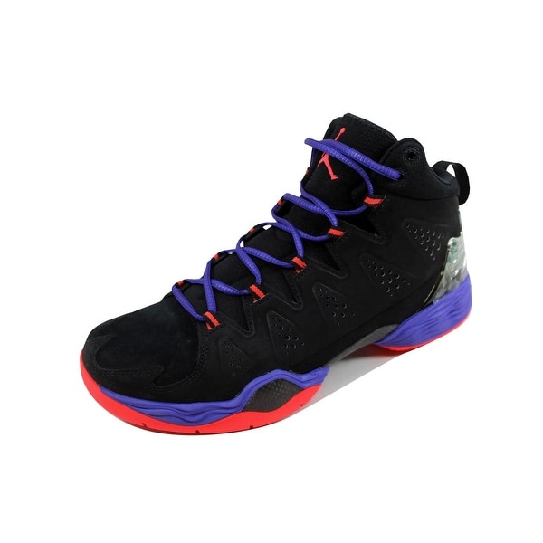 378834ca756b27 Shop Nike Men s Air Jordan Melo M10 Black Infrared 23-Dark Concord ...