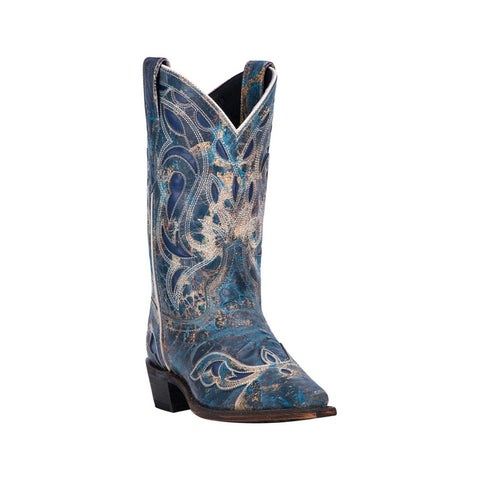 "Laredo Western Boots Womens No More Drama Snip Toe 10"" Shaft"