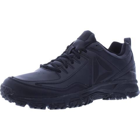Reebok Mens RidgeRider Walking Shoes Fitness Workout - Black