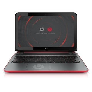 "HP Beats Edition 15-P390NR 15.6"" Touch Laptop AMD A10-7300 1.9GHz 8GB 1TB W10"