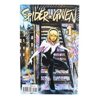 Marvel Spider-Gwen #1 Comic Book (Comic Block Variant Cover) - multi